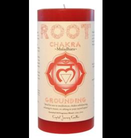Root Chakra Pillar Candle