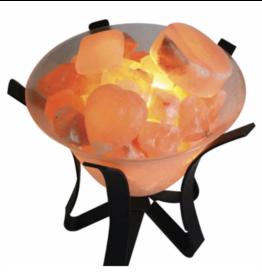 Salt Stone Massage Warmer Lamp