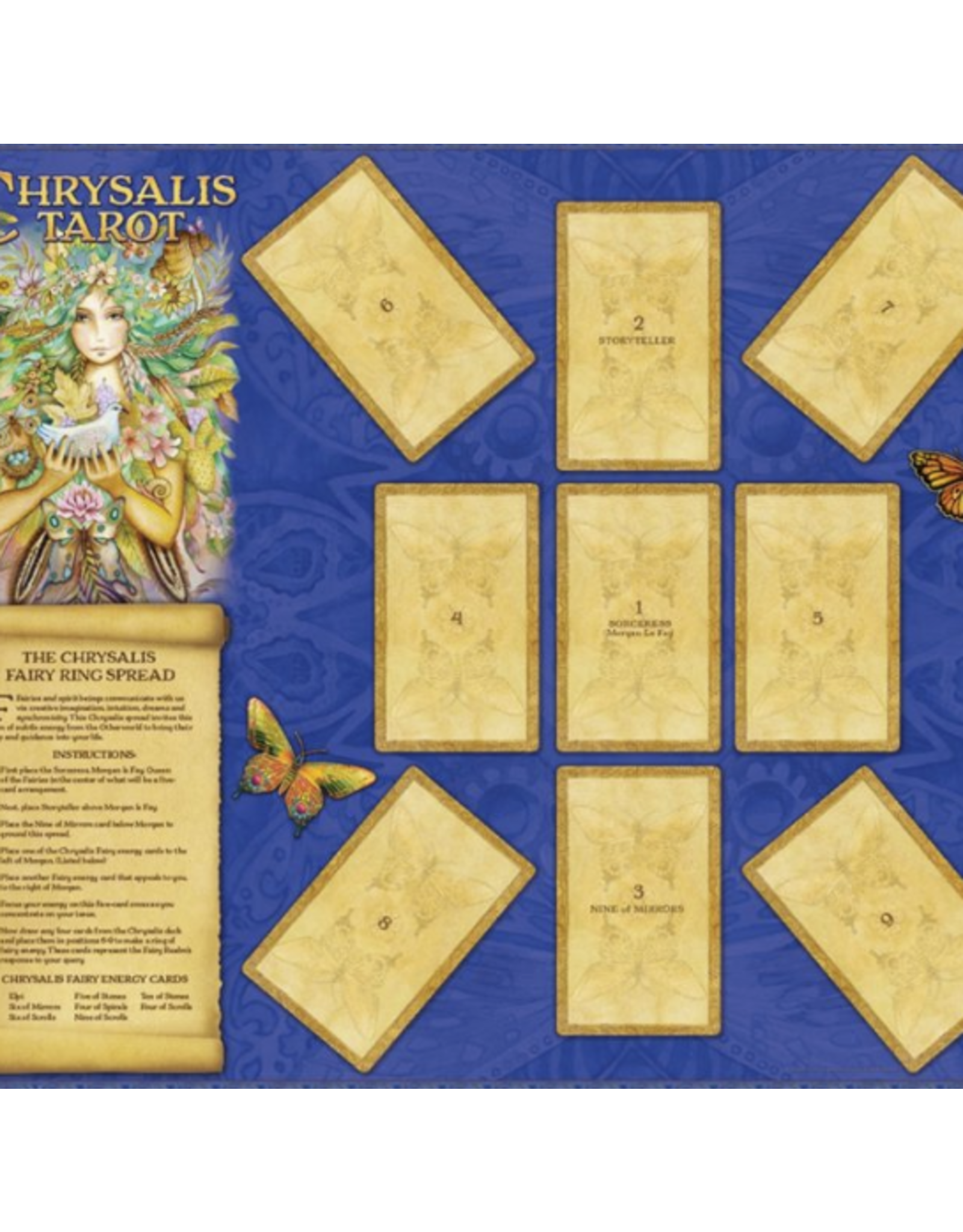 Chrysalis Tarot Deck/ Book