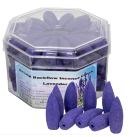 Backflow Incense Cones - Lavender