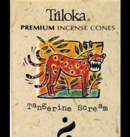 Tangerine Scream Incense Cone