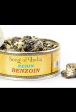 Song of India Benzoin - Natural Resin Incense