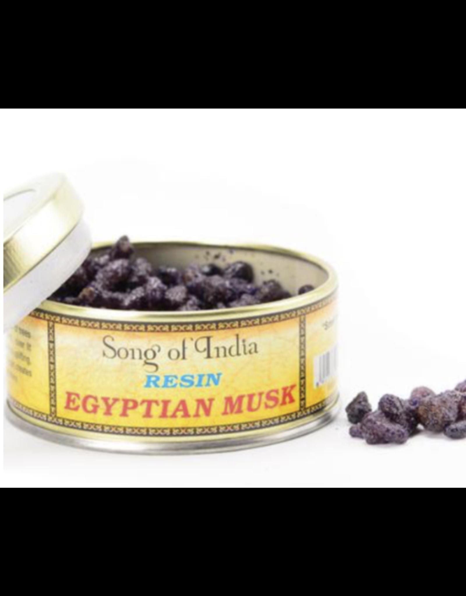 Egyptian Musk - Natural Resin Incense