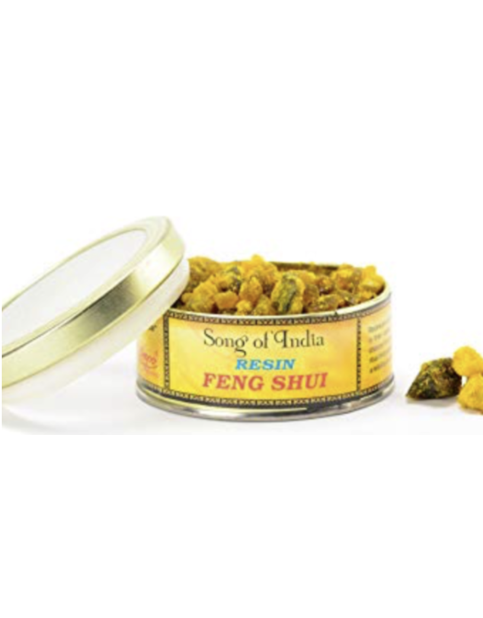 Song of India Feng Shui - Natural Resin Incense