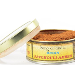 Patchouli Amber - Natural Resin Incense