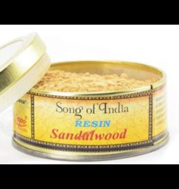 Song of India Sandalwood - Natural Resin Incense