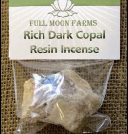 Full Moon Farms Rich Dark Copal Resin Incense 1oz