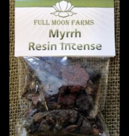 Full Moon Farms Myrrh Resin Incense 1oz