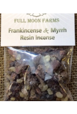 Frankincense & Myrrh Resin Incense 1oz