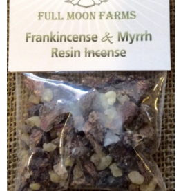 Frankincense & Myrrh Resin Incense 1oz