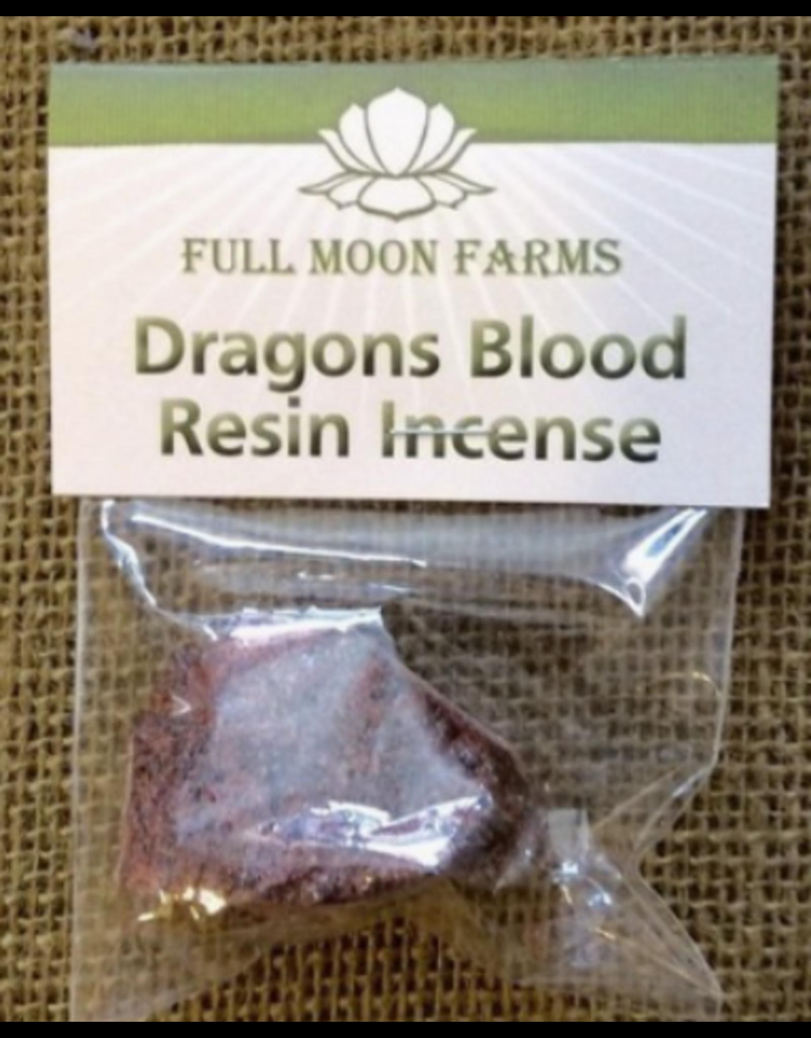 Full Moon Farms Dragons Blood Resin Incense 0.5 oz