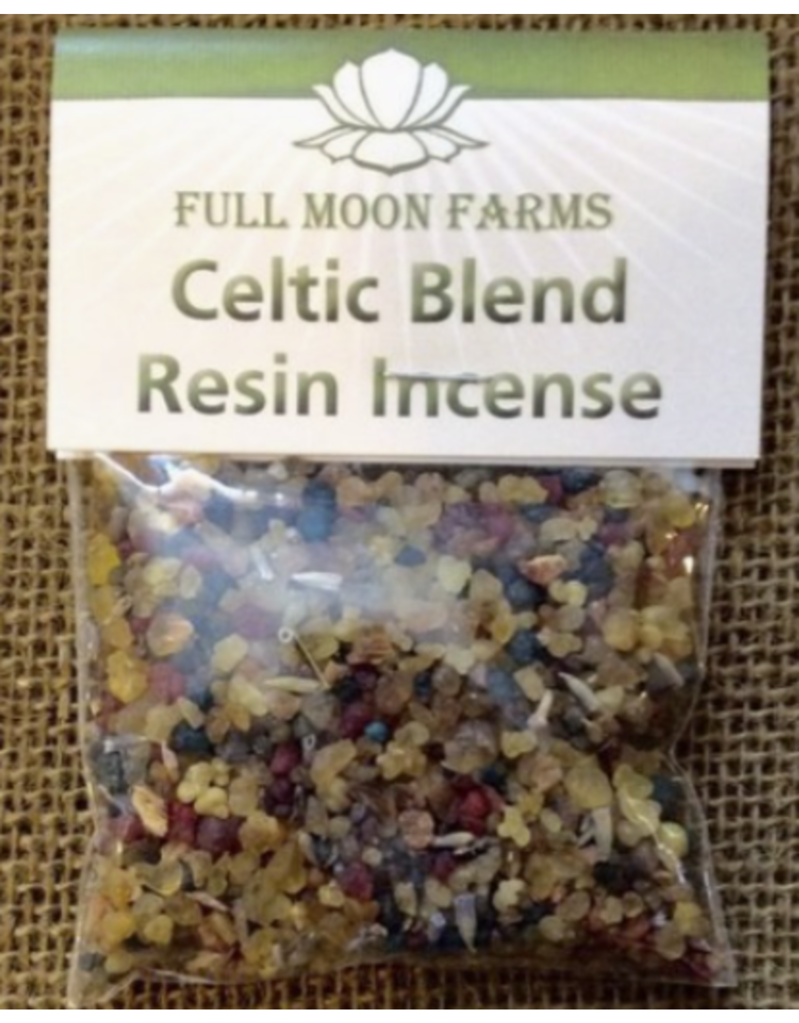 Celtic Blend Resin Incense 1oz