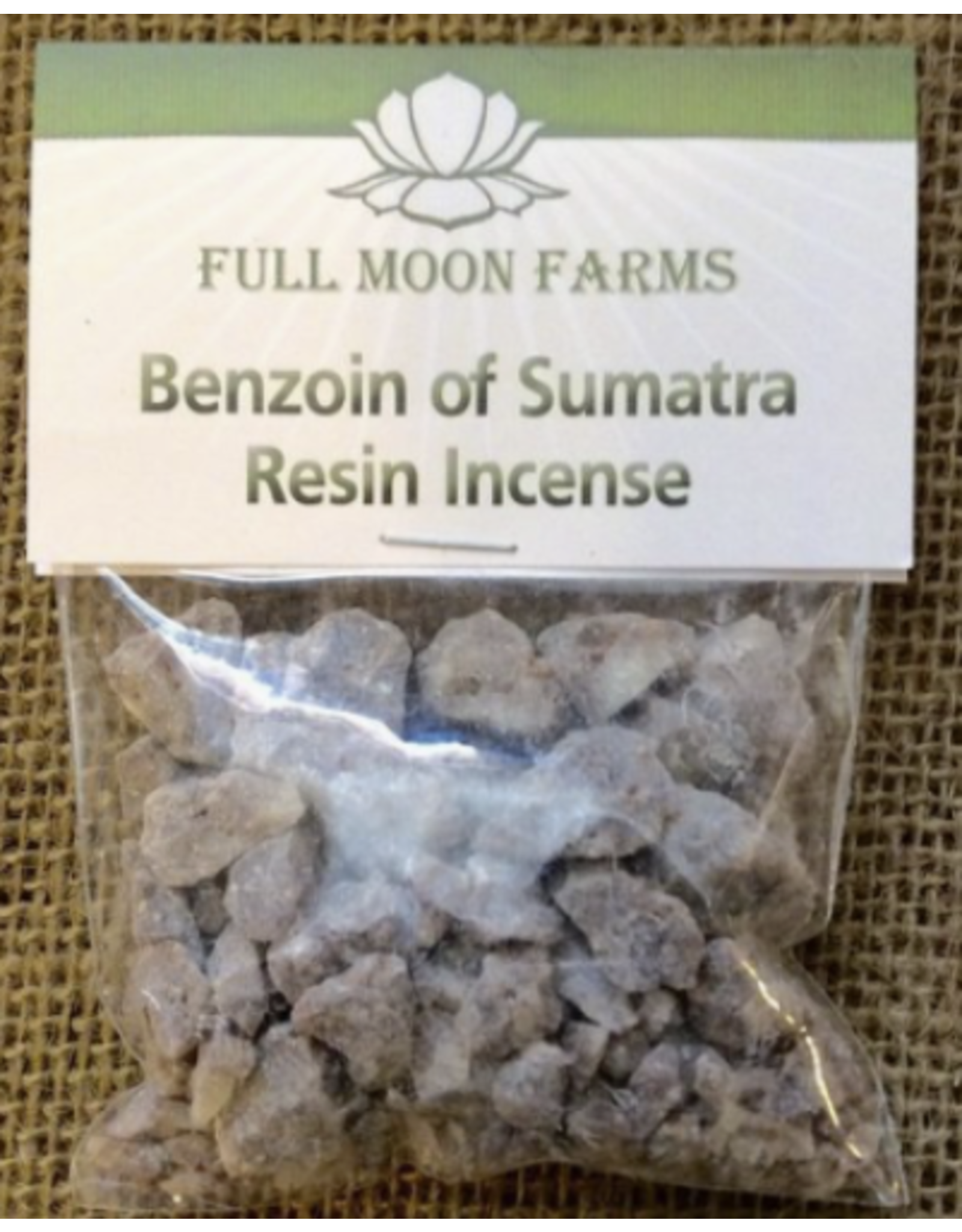 Benzoin of Sumatra Resin Incense 1oz