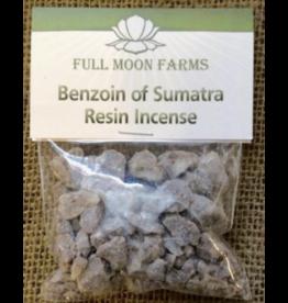 Full Moon Farms Benzoin of Sumatra Resin Incense 1oz