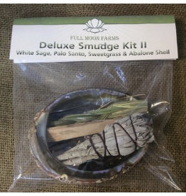 Full Moon Farms Deluxe Smudge Sage Kit 2