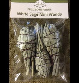 White Sage Mini Wands