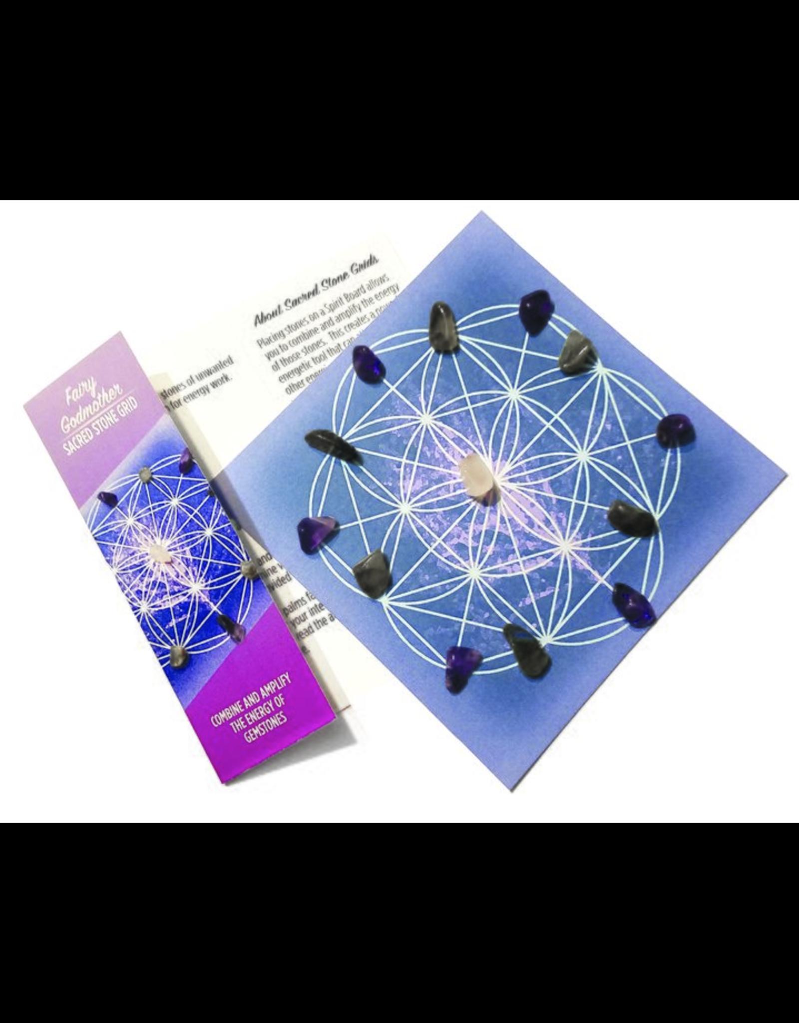 Fairy Godmother - Sacred Stone Grid