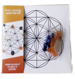 Inner Journey - Sacred Stone Grid
