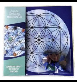 Inspire Creativity - Sacred Stone Grid