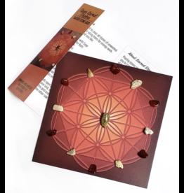 Open Sacral Chakra Sacred Stone Grid
