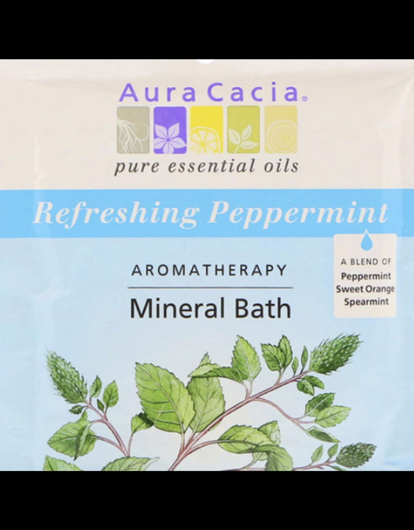 Aura Cacia Peppermint Mineral Bath