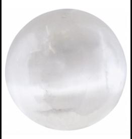 Selenite Sphere 1-2 Inch