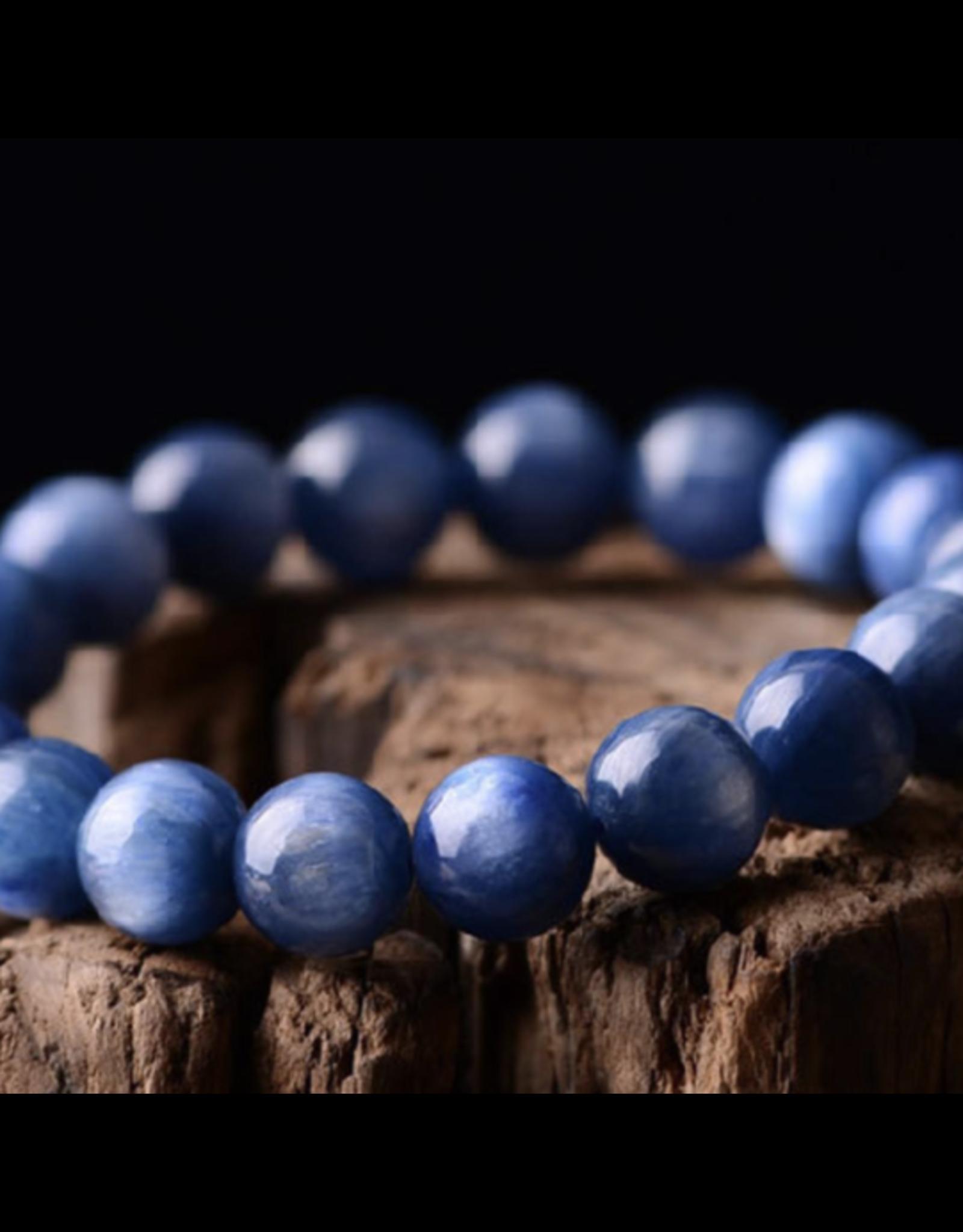 Blue Kyanite Bracelet - 4-7mm