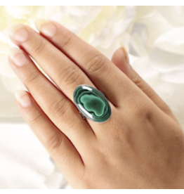 Malachite Ring - Adjustable