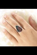 Bloodstone Ring - Adjustable