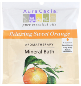 Aura Cacia Sweet Orange Mineral Bath