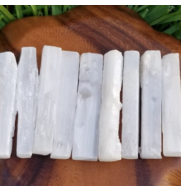 Selenite 4in Raw Rectangle
