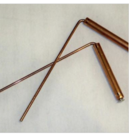 Copper Dowsing Rods - Large
