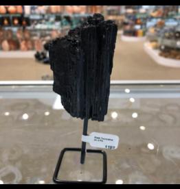 Black Tourmaline on a Pin