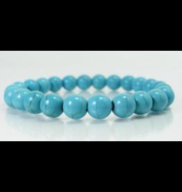 Syn. Turquoise Bracelet - 8mm