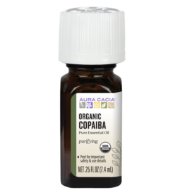 Organic Copaiba Pure Essential Oil