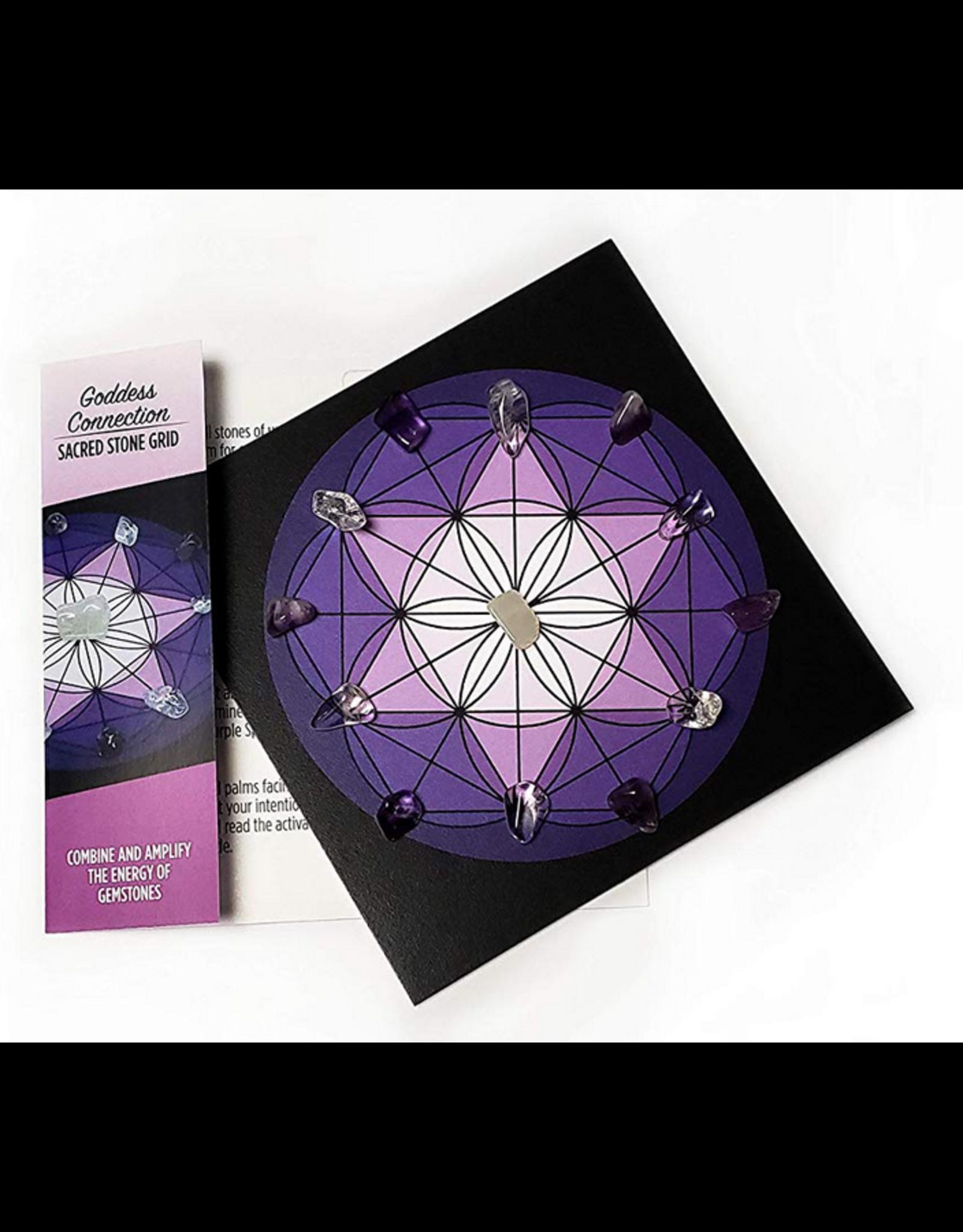 Goddess Connection - Sacred Stone Grid