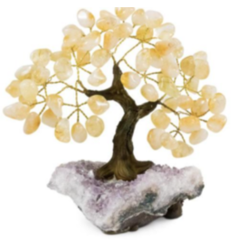 Citrine Gemstone Tree - Medium