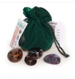 Scorpio Astrological Crystal Kit