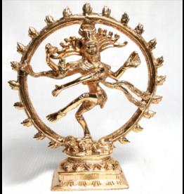 """Shiva Natraj 9"""" Brass"""