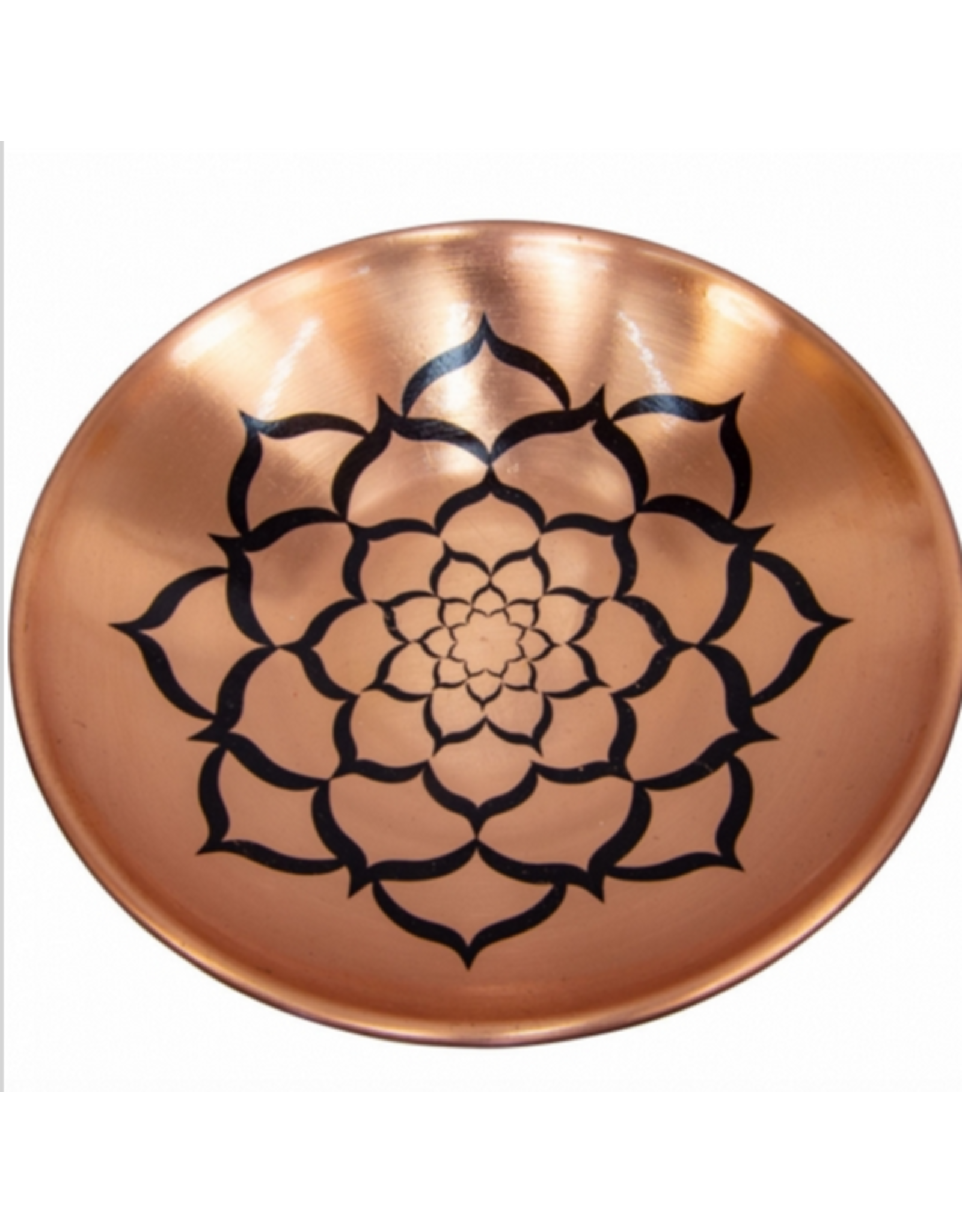 Copper Plate - Lotus