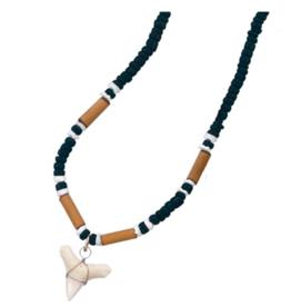 Coco & Bamboo Sharktooth Necklace