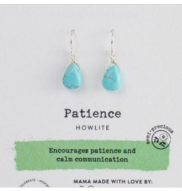 Soul-Full Earring Howlite - Patience