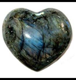 Labradorite Heart-Medium
