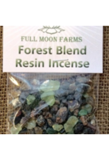 Full Moon Farms Forest Blend Resin Incense 0.5oz
