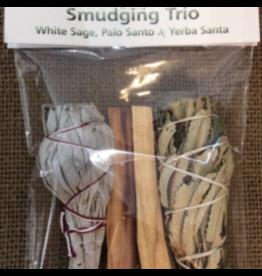Smudging Trio: White Sage, Palo Santo & Yerba Santa