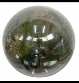 Gemstone Sphere 40mm - Moss Agate