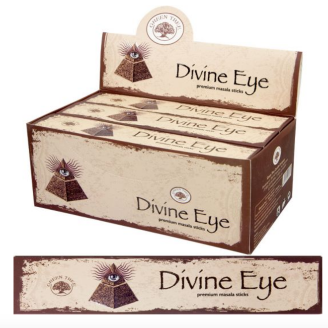 Green Tree Divine Eye Incense Sticks -15g