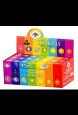 7 Chakra Sticks - Boxed Incense