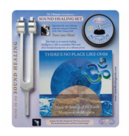 SOUND HEALING SET CD TUNING FORK KIT