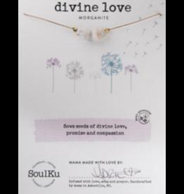 Seed Necklace - Morganite - Divine Love